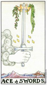 ace of swords-universal waite