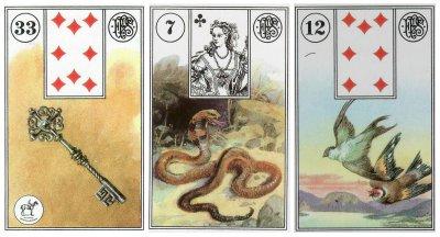 key + snake + birds-piatnik