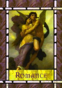 Romance, from the Healing with the Angels Oracle Cards.