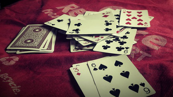 playing-cards-on-cloth